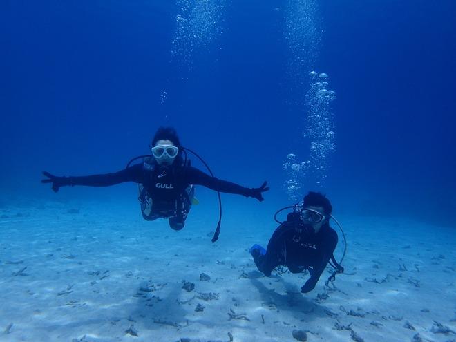 水慣れからの体験ダイビング