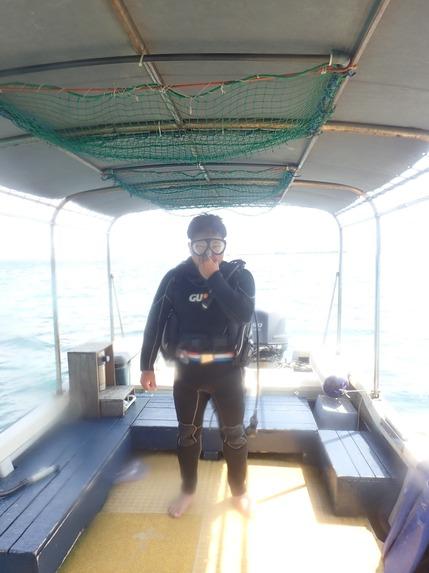 シマンチュの体験ダイビング