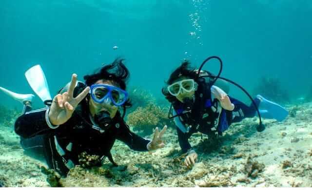 西表島体験ダイビング