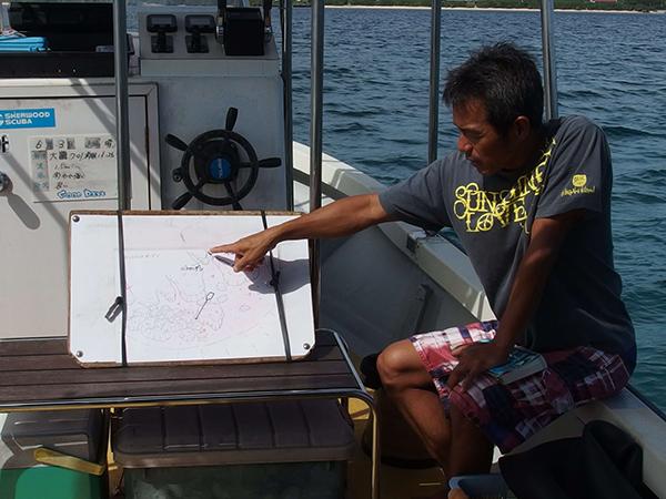 西表島CGOODDIVEの船長