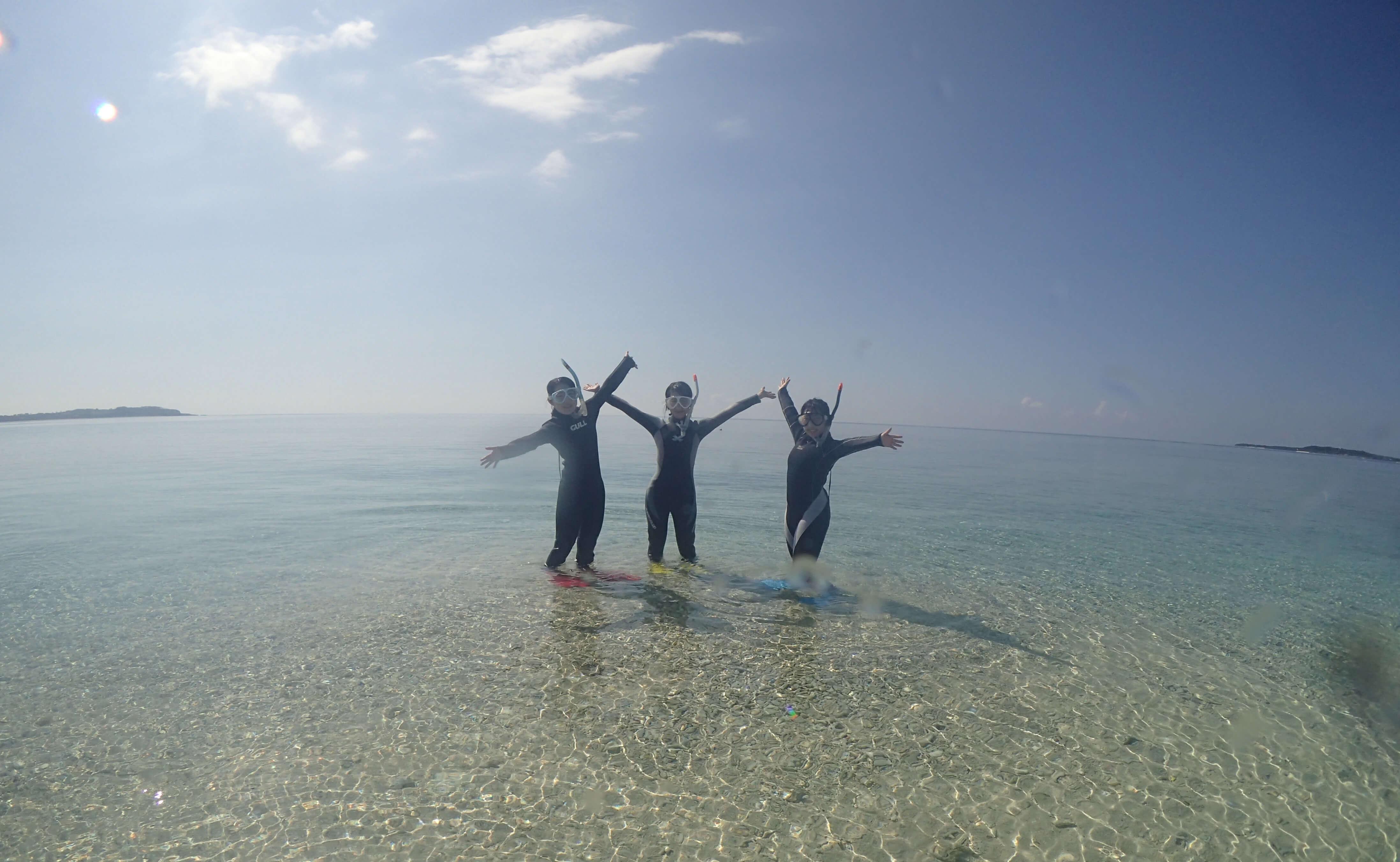 西表島体験ダイビングのんびり1日コース