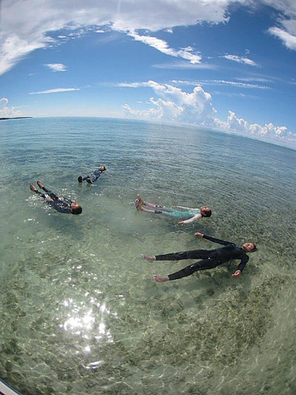 西表島のツアー参加者
