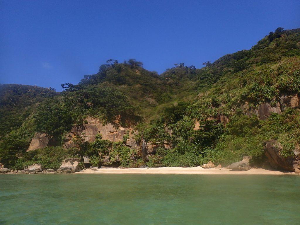 無人島上陸