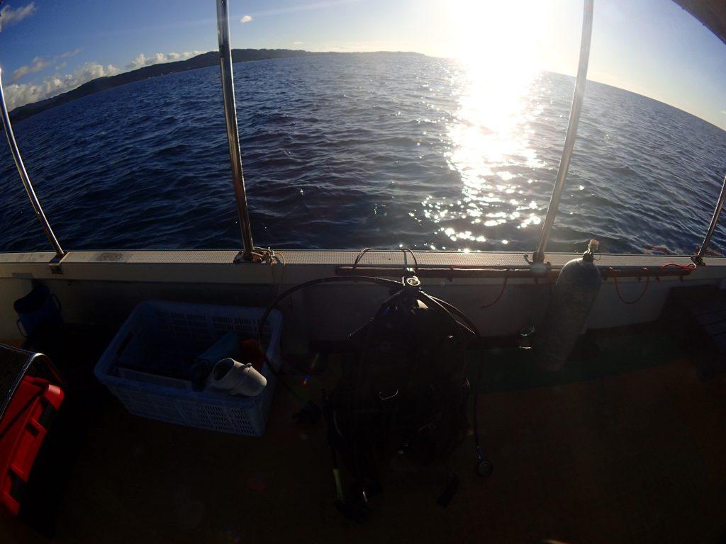 夕方に潜る西表の海