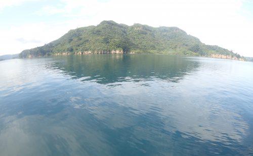 9月の凪の海