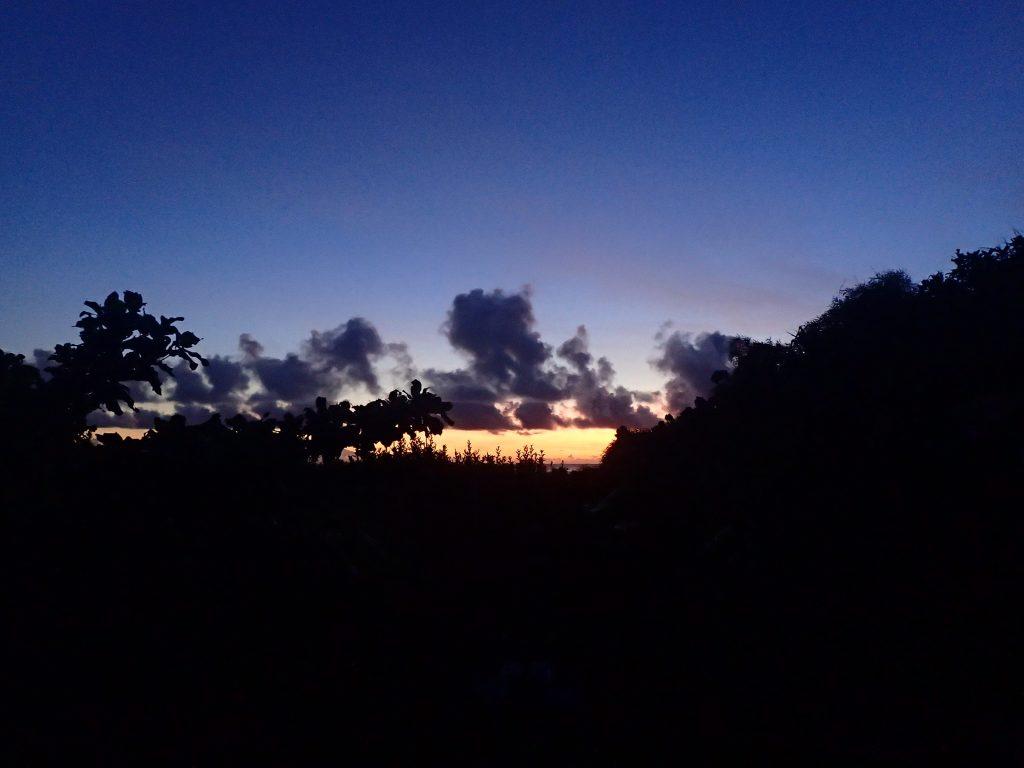 朝陽とサンセット